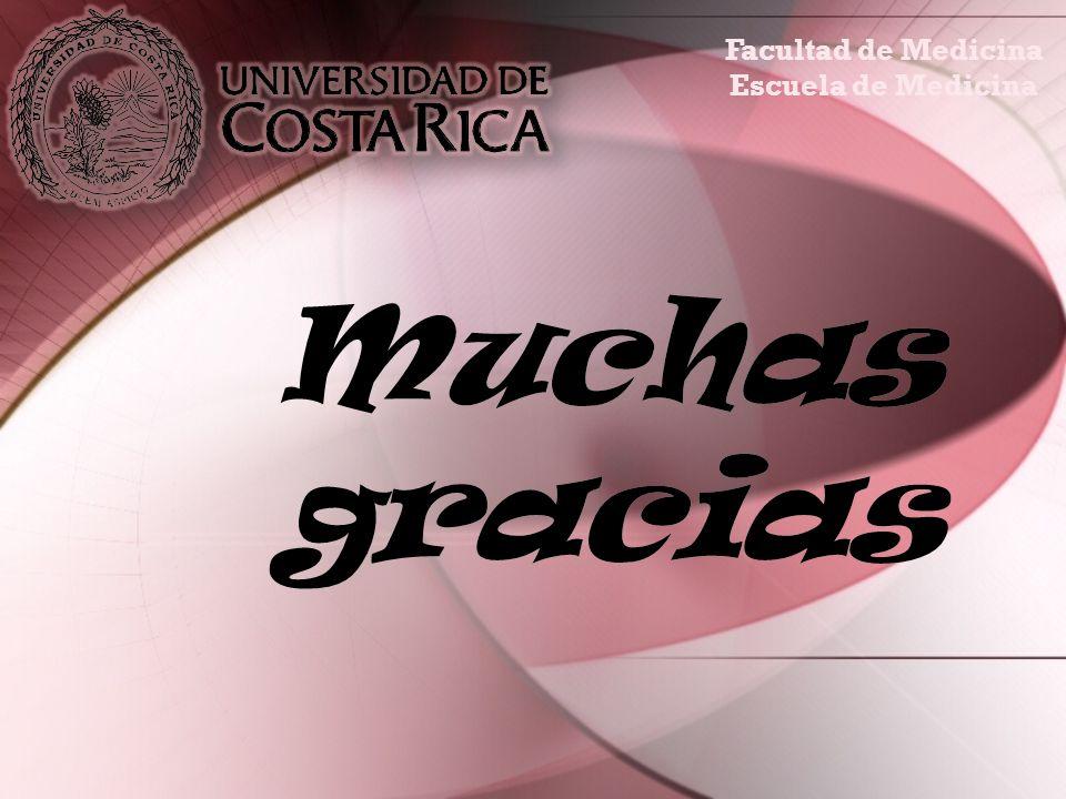 Facultad de Medicina Escuela de Medicina Muchas gracias