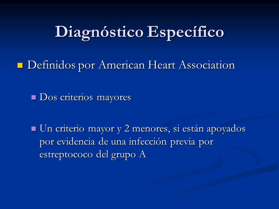 Diagnóstico Específico
