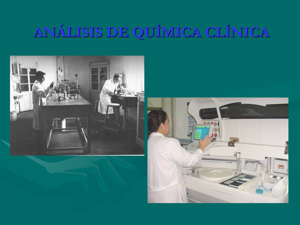 ANÁLISIS DE QUÍMICA CLÍNICA