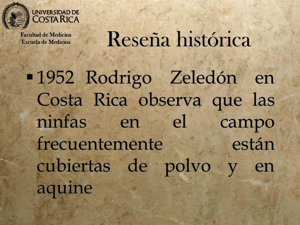 Reseña histórica Facultad de Medicina. Escuela de Medicina.