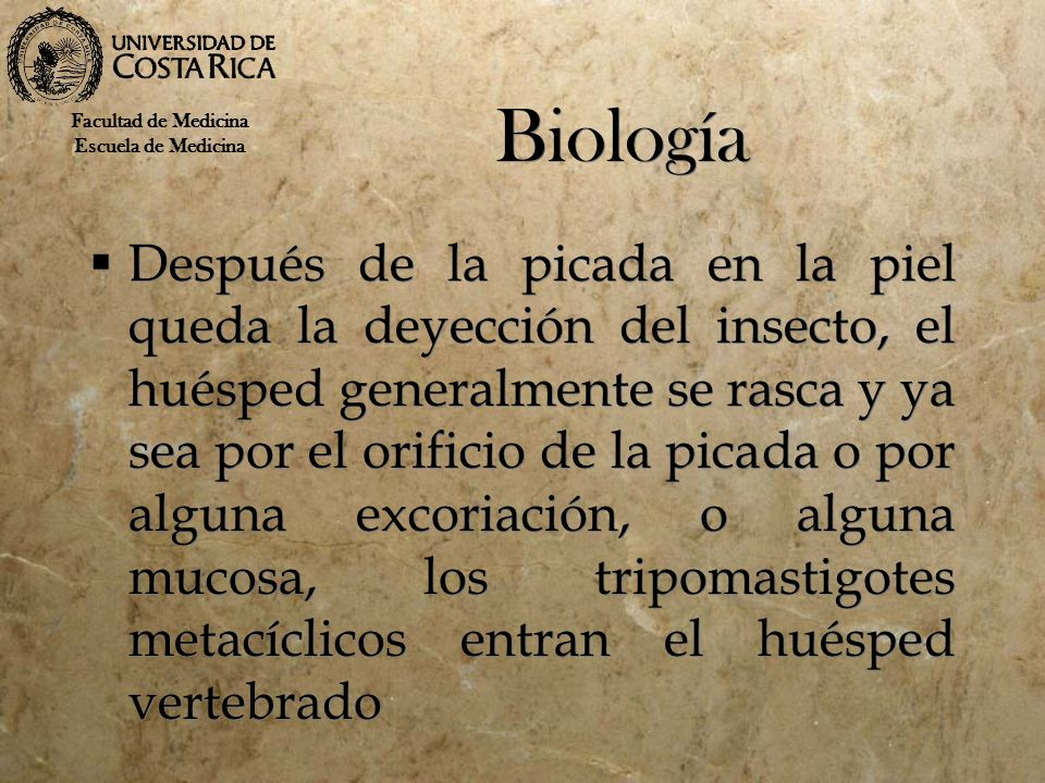 Biología Facultad de Medicina. Escuela de Medicina.