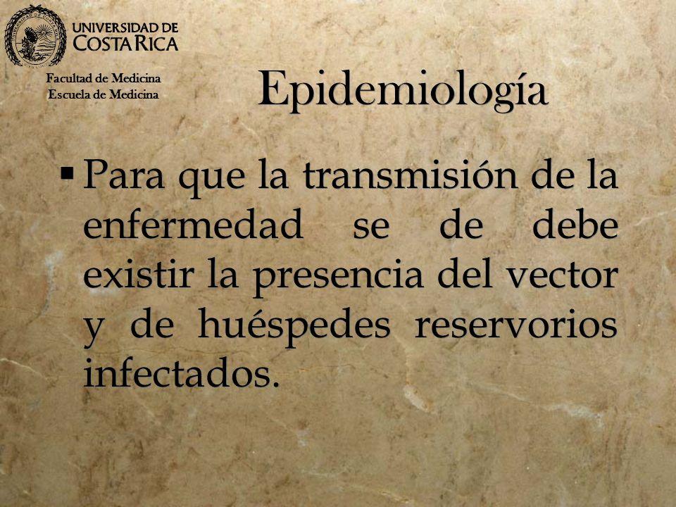 Epidemiología Facultad de Medicina. Escuela de Medicina.