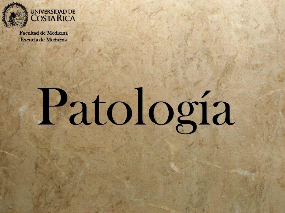Facultad de Medicina Escuela de Medicina Patología