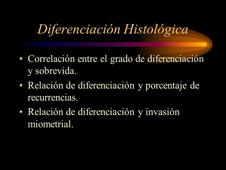 Diferenciación Histológica