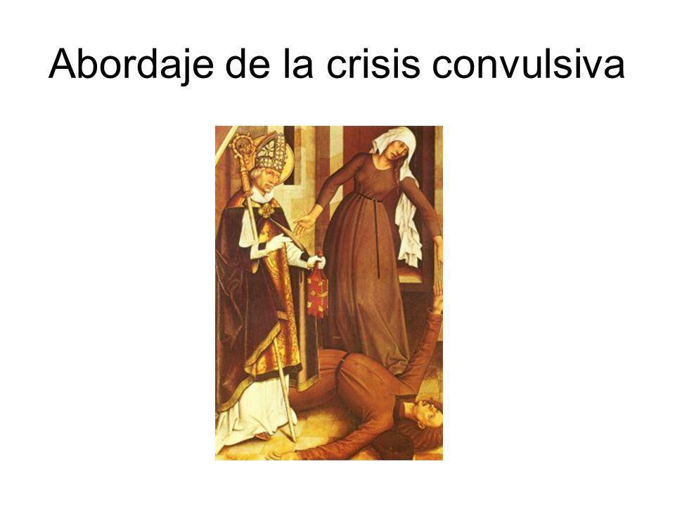 Abordaje de la crisis convulsiva