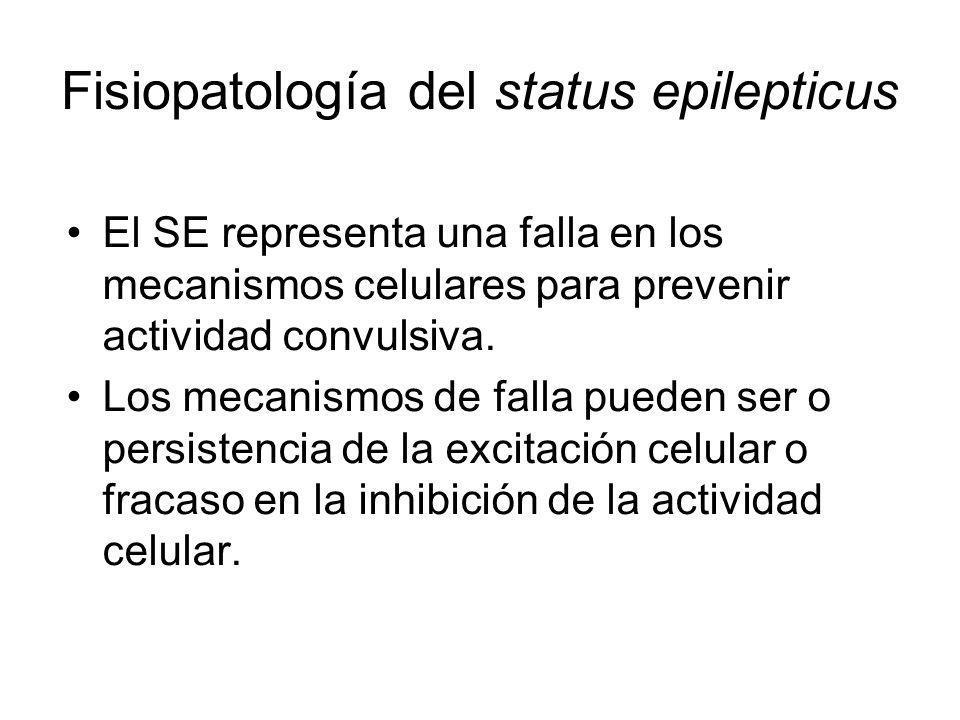 Fisiopatología del status epilepticus