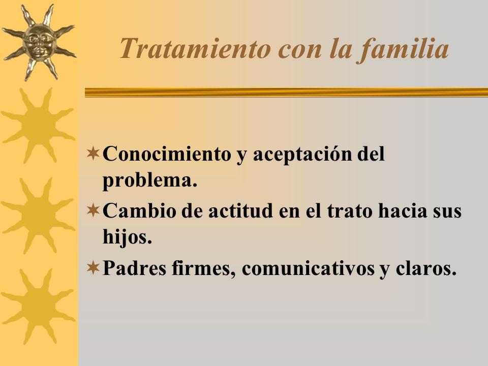 Tratamiento con la familia