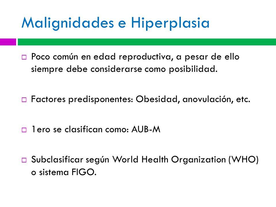 Malignidades e Hiperplasia