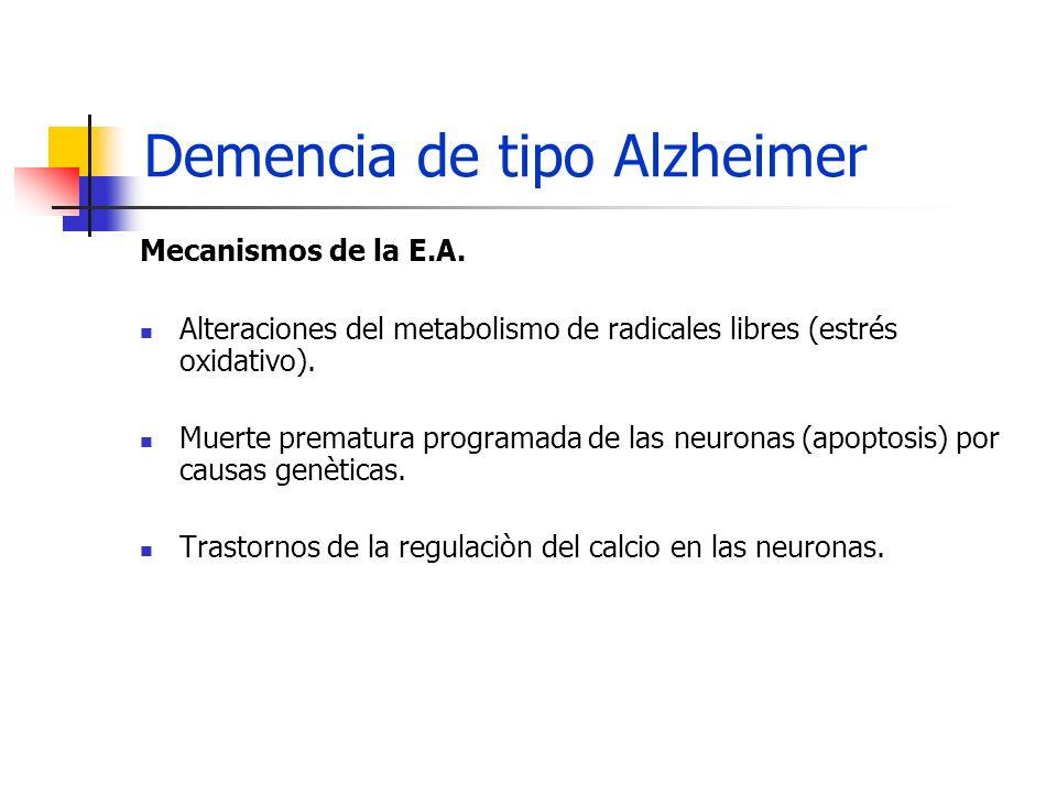 Demencia de tipo Alzheimer