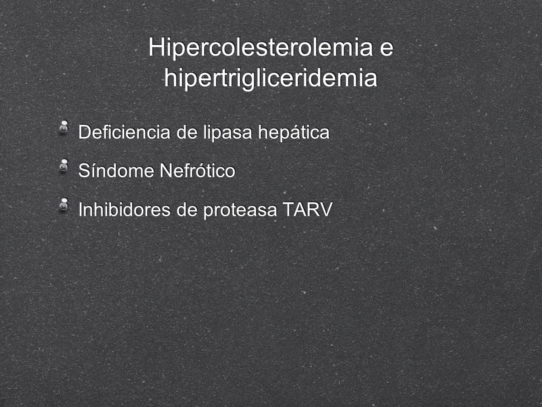 Hipercolesterolemia e hipertrigliceridemia