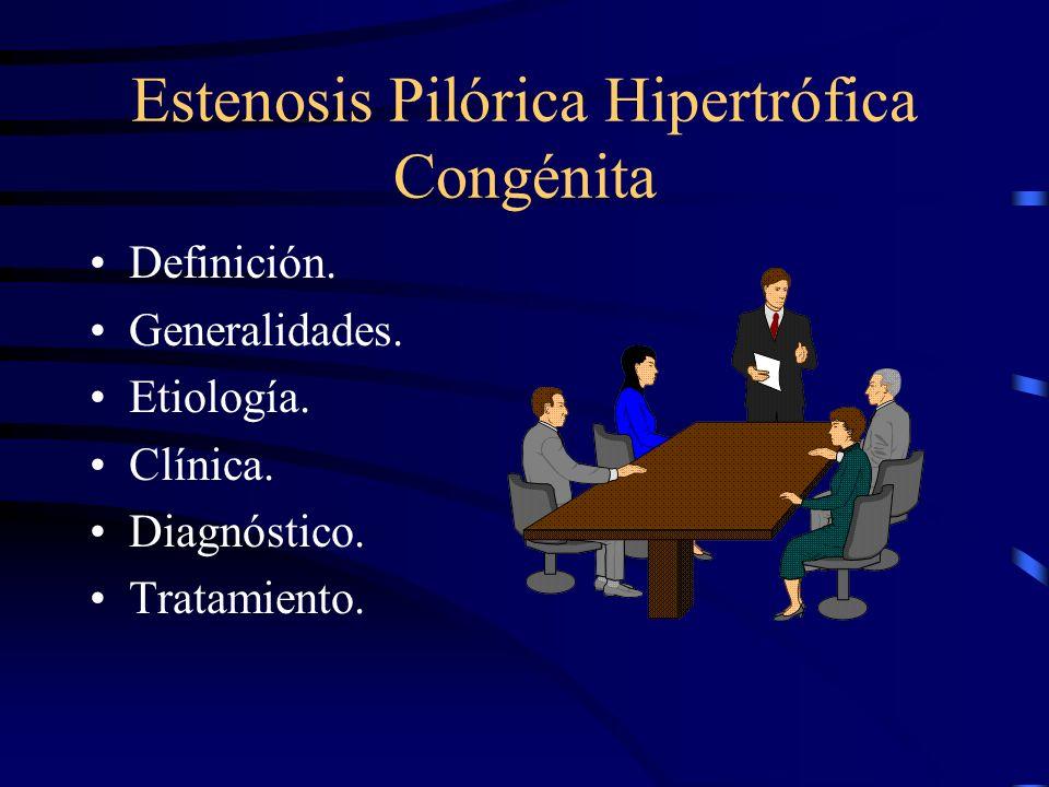 Estenosis Pilórica Hipertrófica Congénita