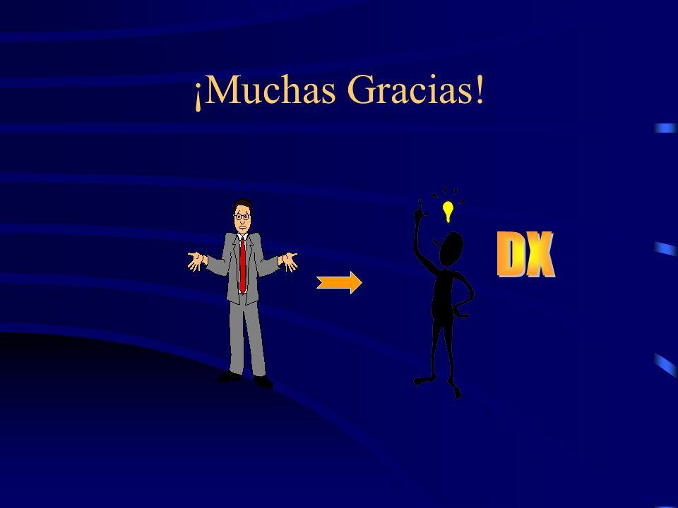 ¡Muchas Gracias! DX