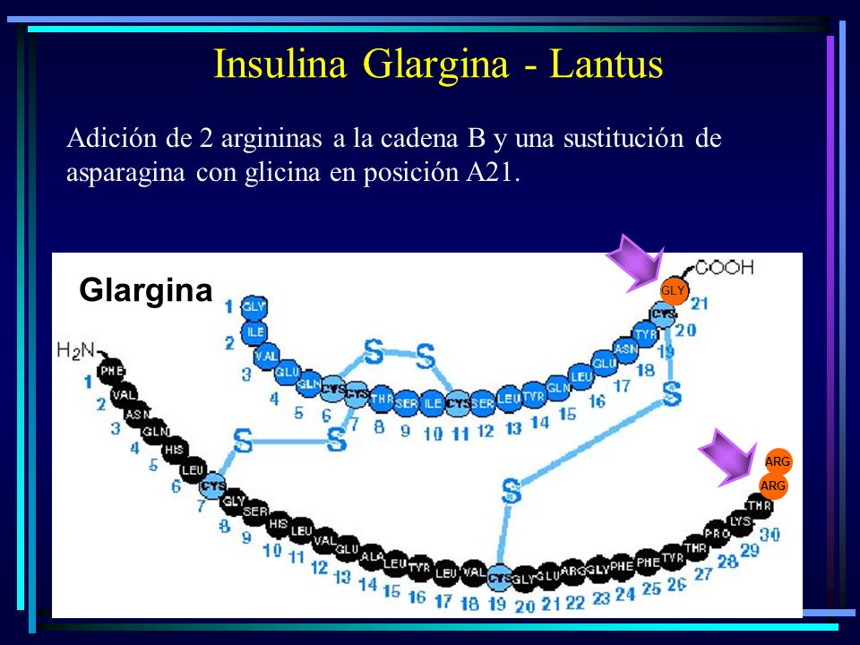 Insulina Glargina - Lantus