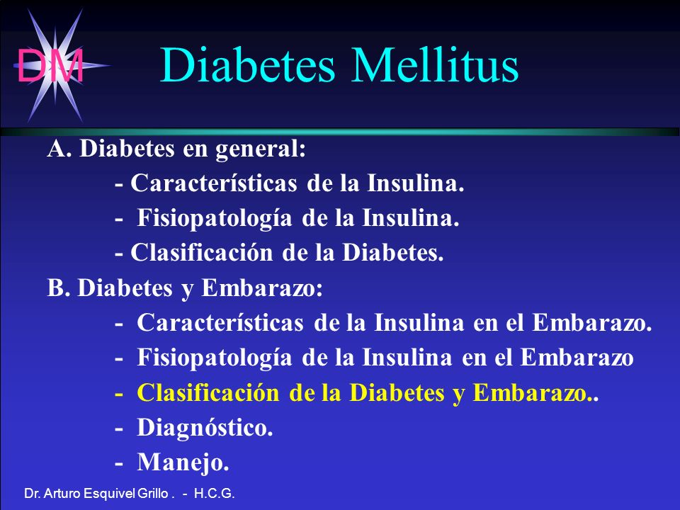 Diabetes Mellitus A. Diabetes en general: