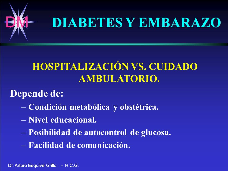 HOSPITALIZACIÓN VS. CUIDADO AMBULATORIO.