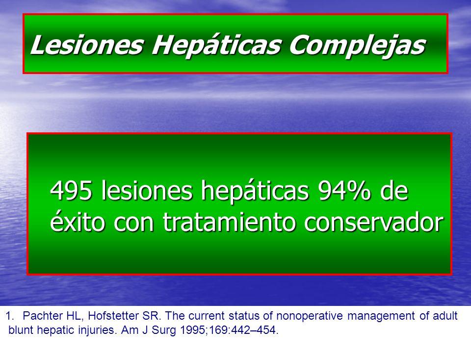Lesiones Hepáticas Complejas
