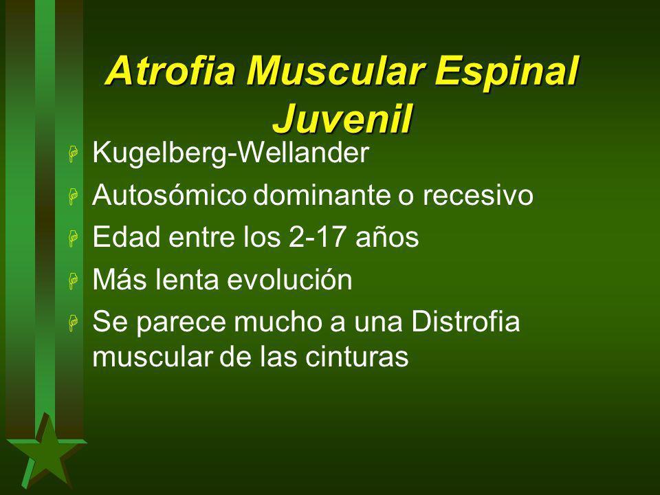 Atrofia Muscular Espinal Juvenil