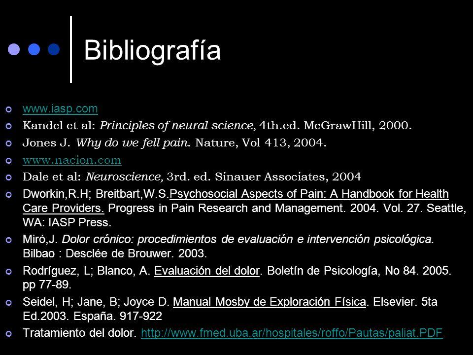 Bibliografía www.iasp.com