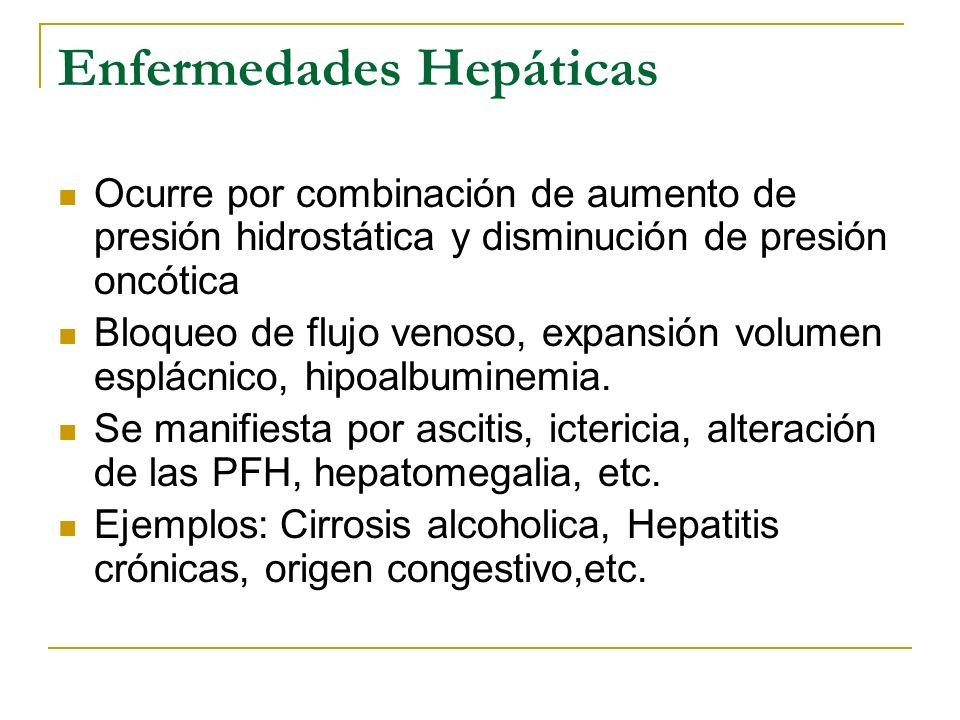 Enfermedades Hepáticas