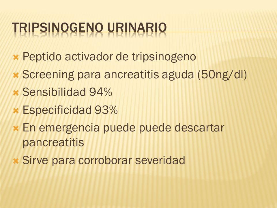 Tripsinogeno Urinario