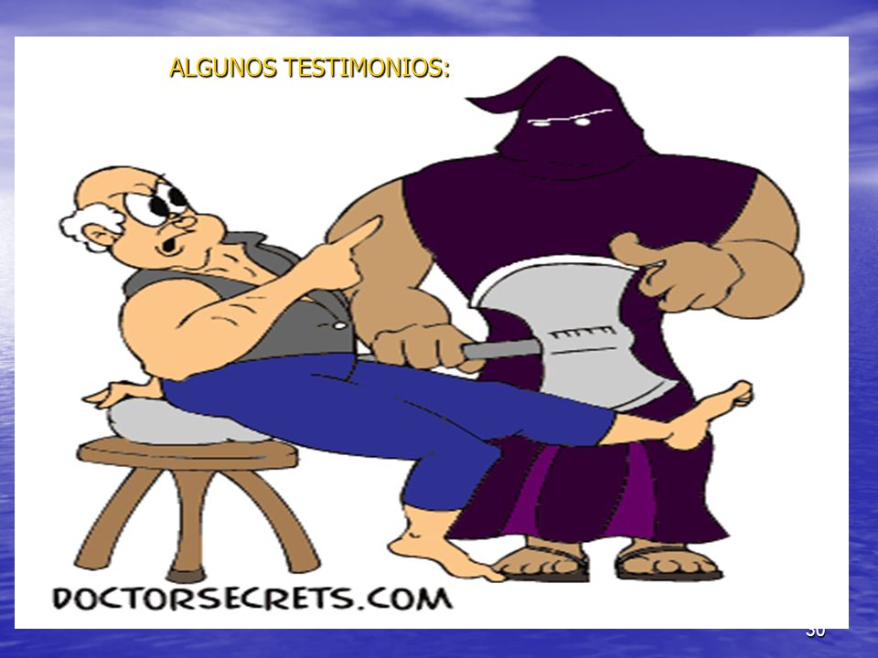 ALGUNOS TESTIMONIOS: