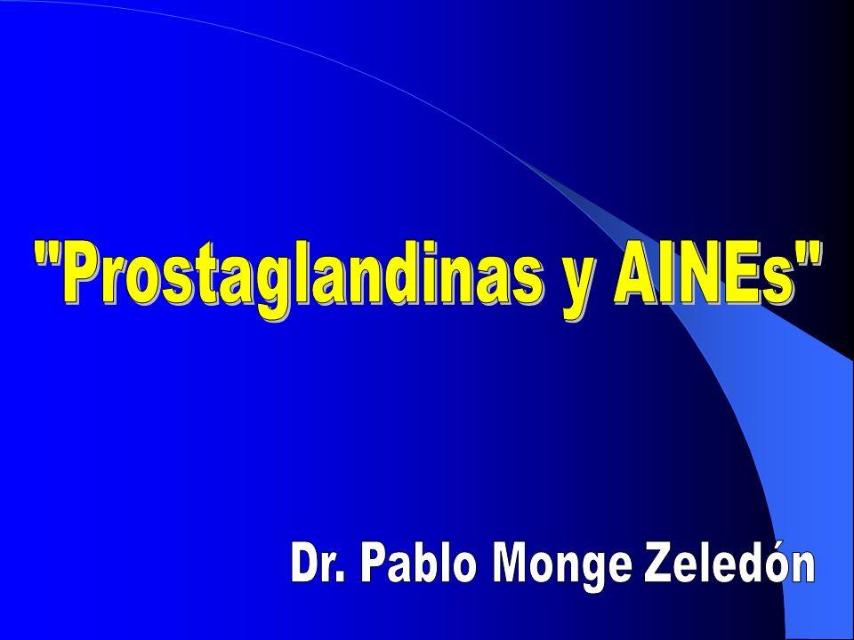 Prostaglandinas y AINEs