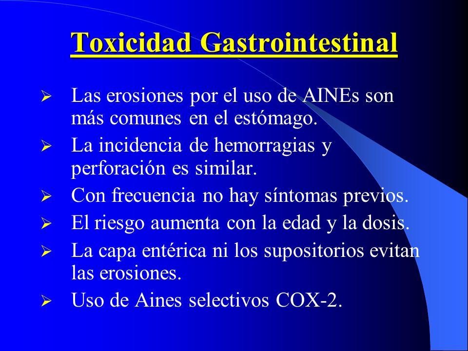 Toxicidad Gastrointestinal