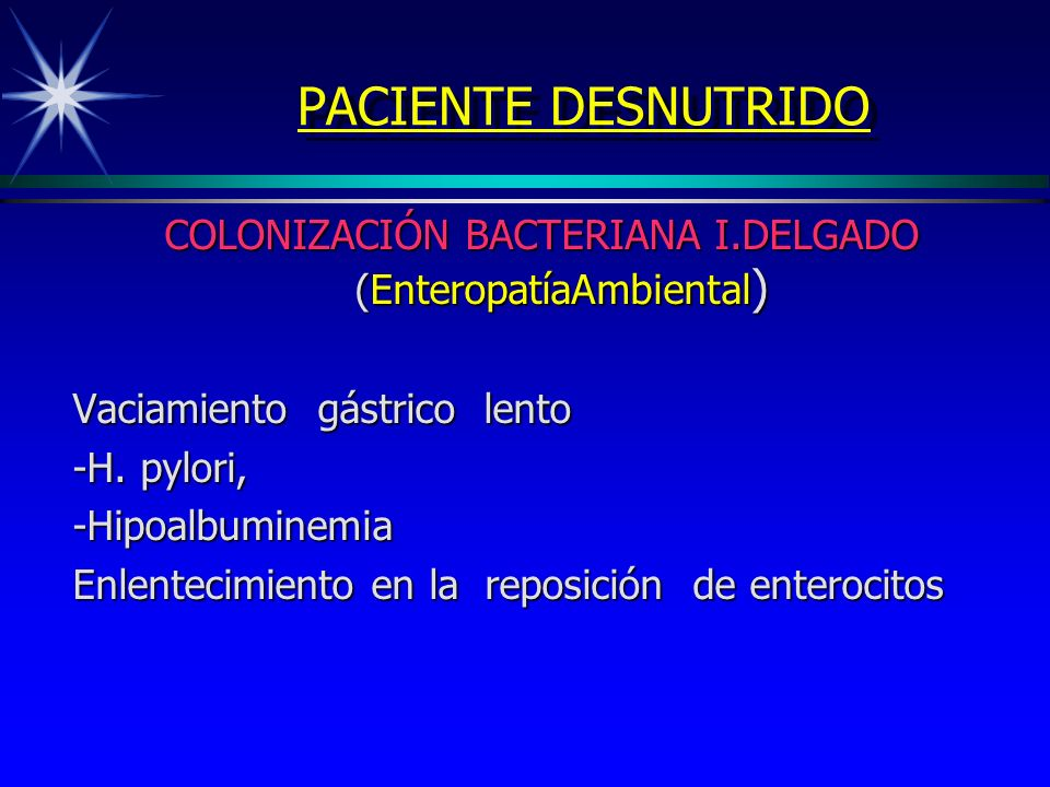 COLONIZACIÓN BACTERIANA I.DELGADO (EnteropatíaAmbiental)