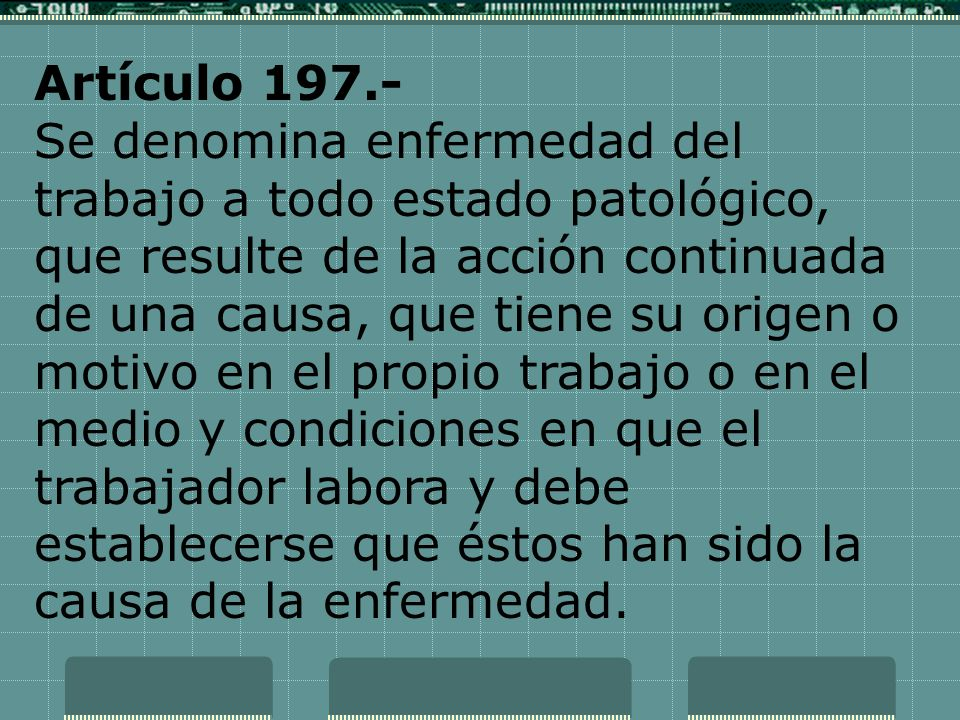 Artículo 197.-