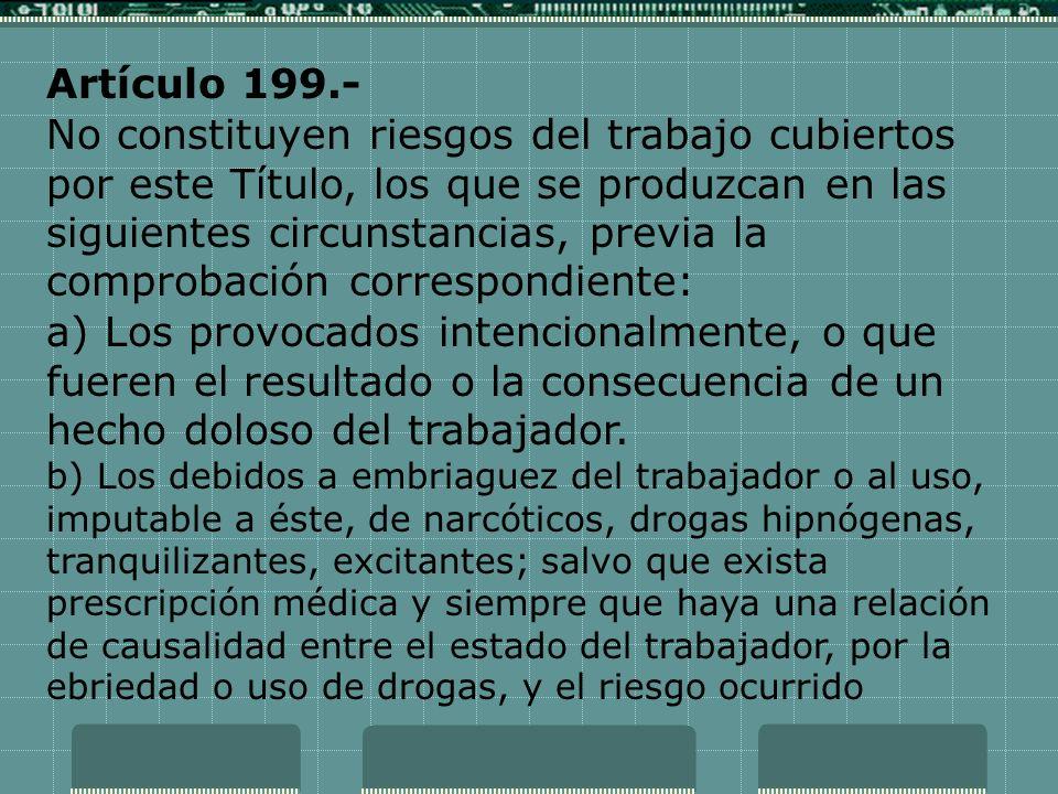 Artículo 199.-