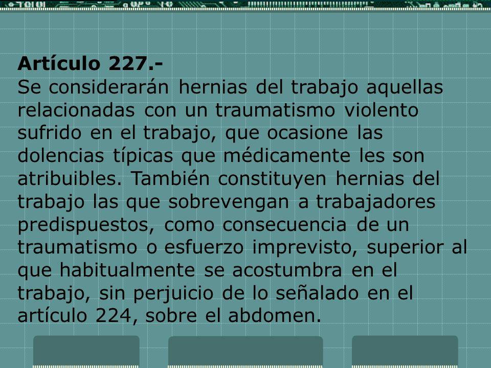 Artículo 227.-