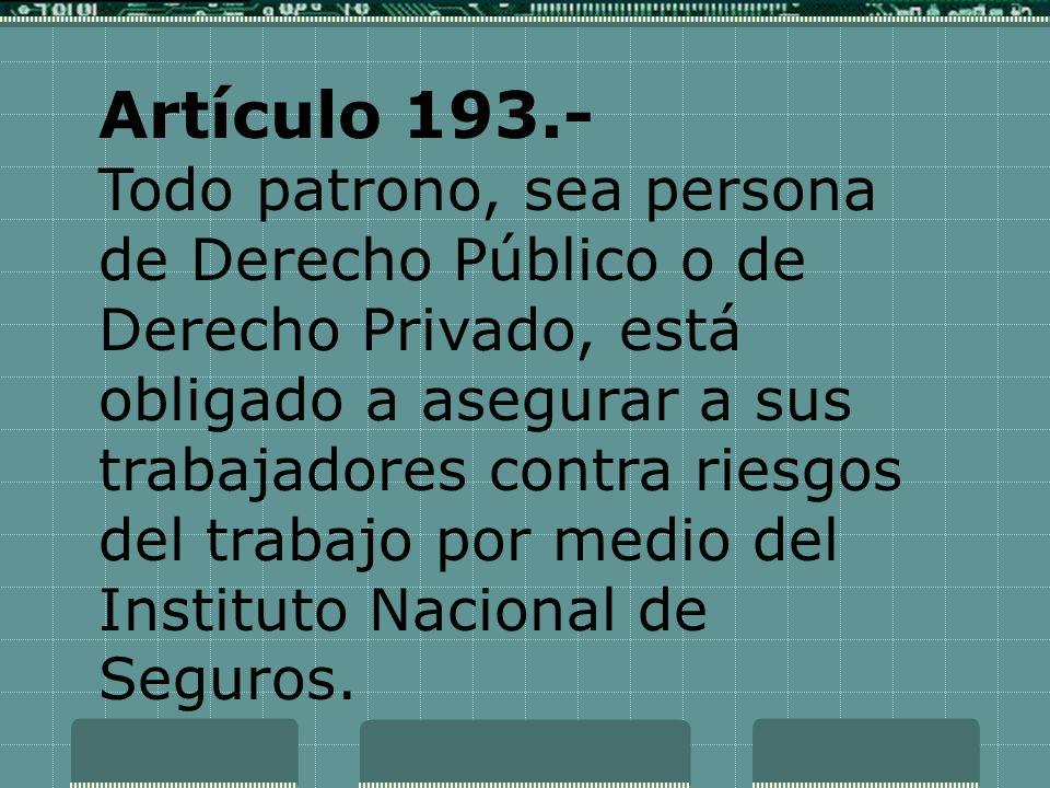 Artículo 193.-
