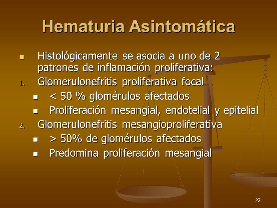 Hematuria Asintomática
