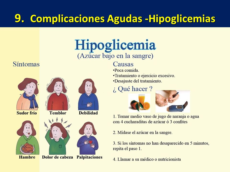 9. Complicaciones Agudas -Hipoglicemias