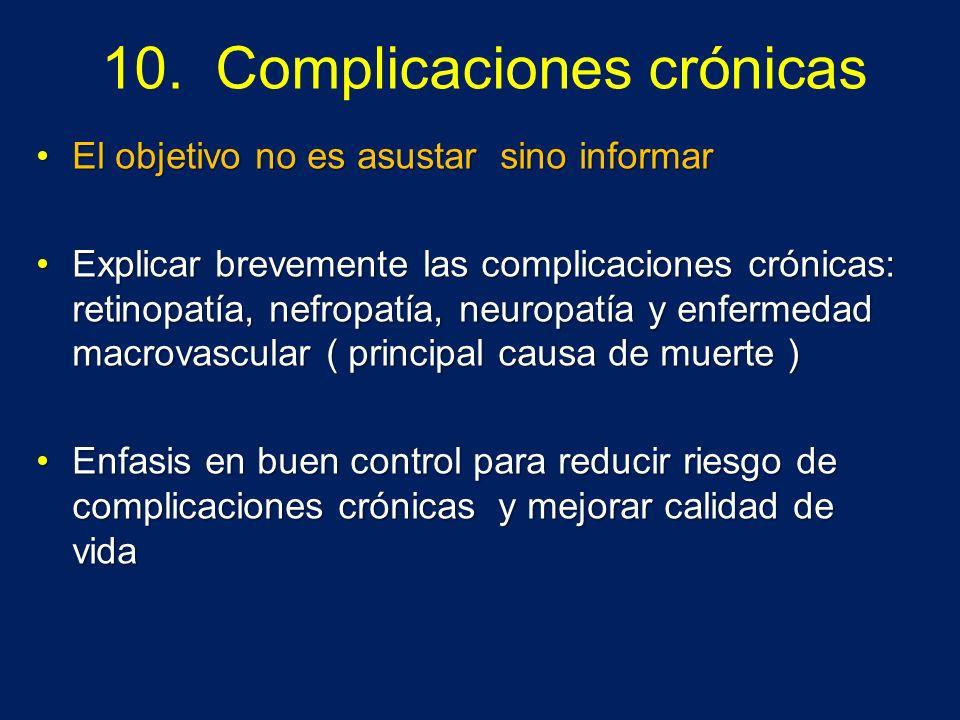 10. Complicaciones crónicas