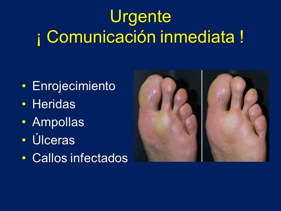 Urgente ¡ Comunicación inmediata !