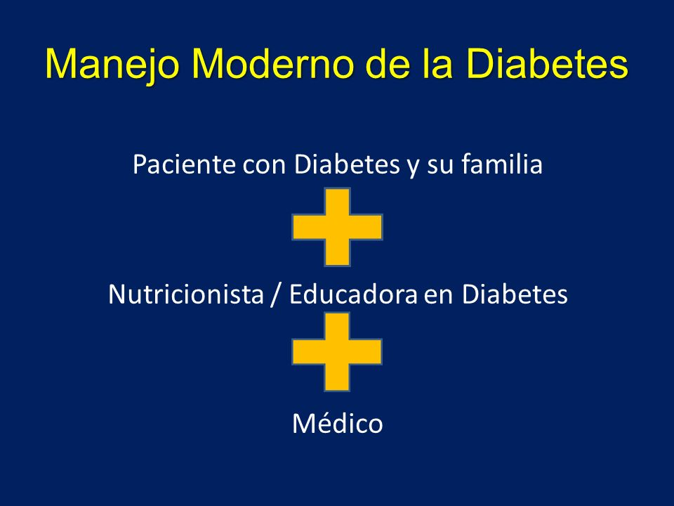 Manejo Moderno de la Diabetes
