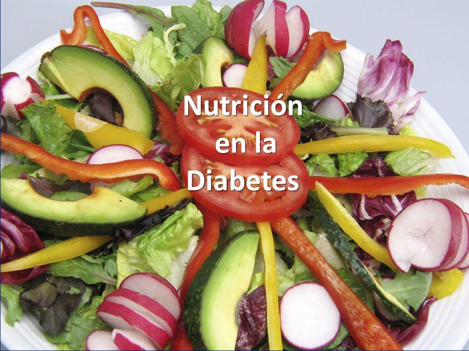 Nutrición en la Diabetes