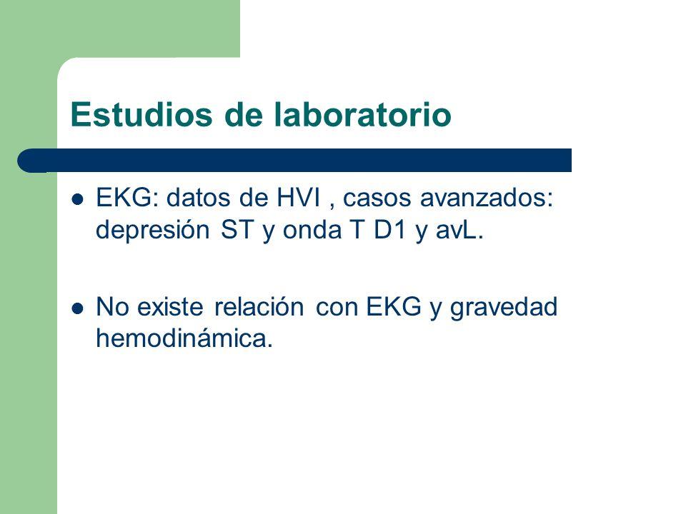 Estudios de laboratorio