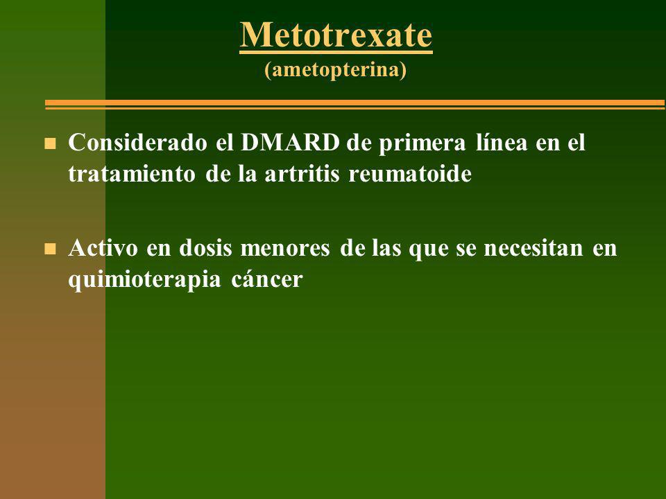 Metotrexate (ametopterina)