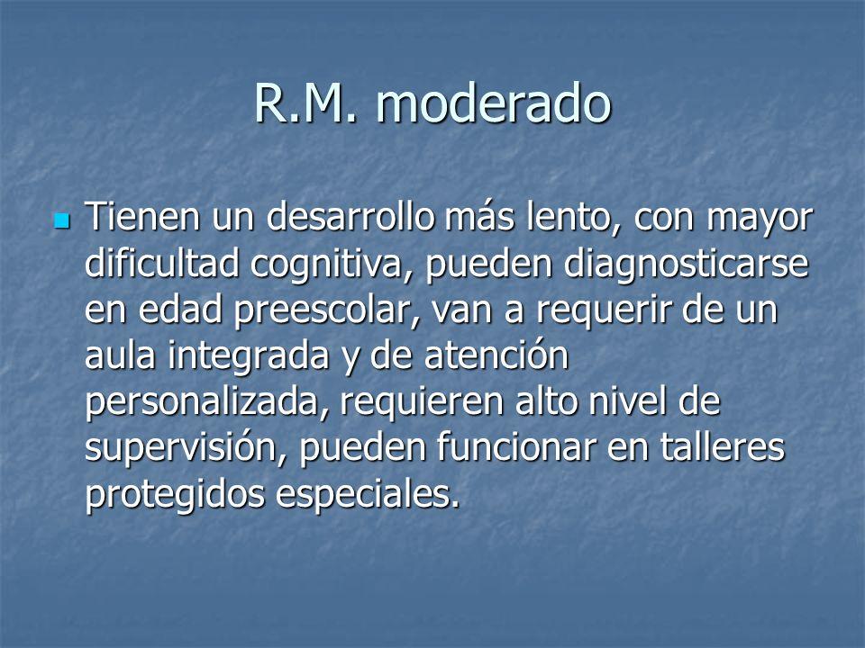 R.M. moderado