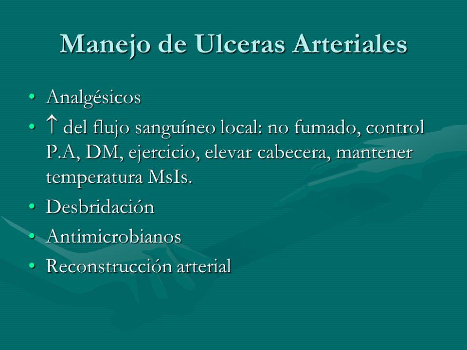 Manejo de Ulceras Arteriales