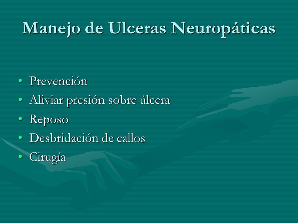 Manejo de Ulceras Neuropáticas