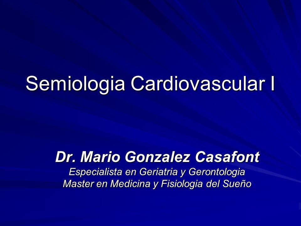 Semiologia Cardiovascular I