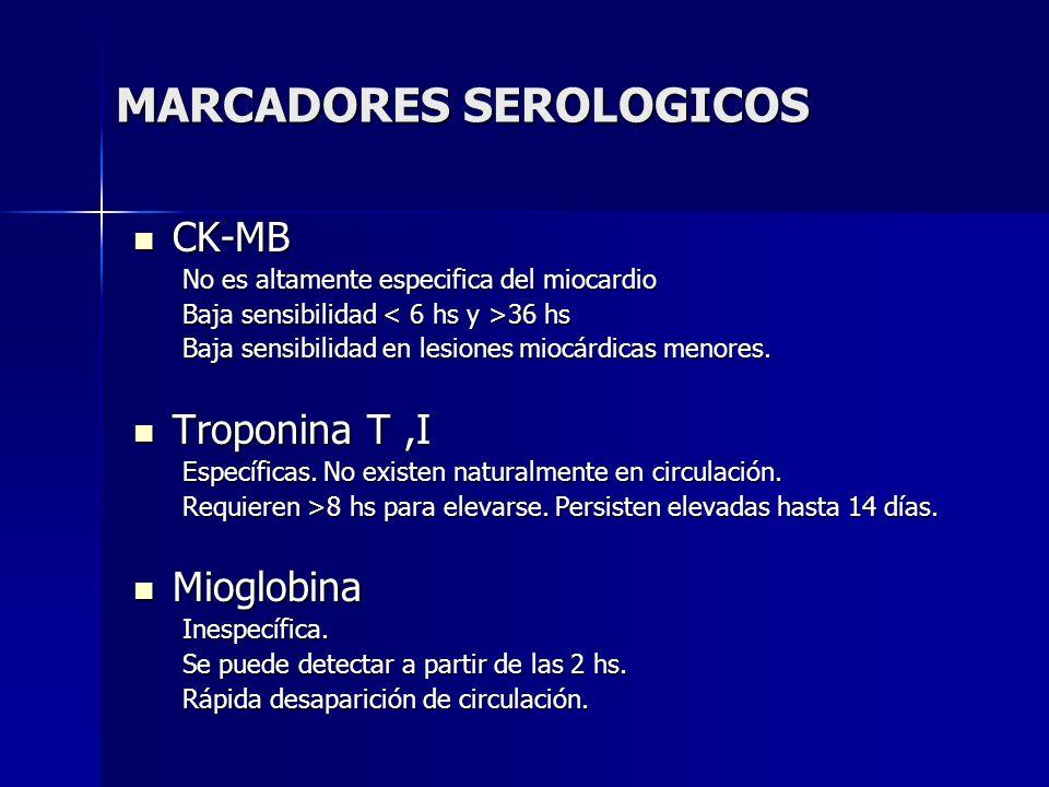 MARCADORES SEROLOGICOS