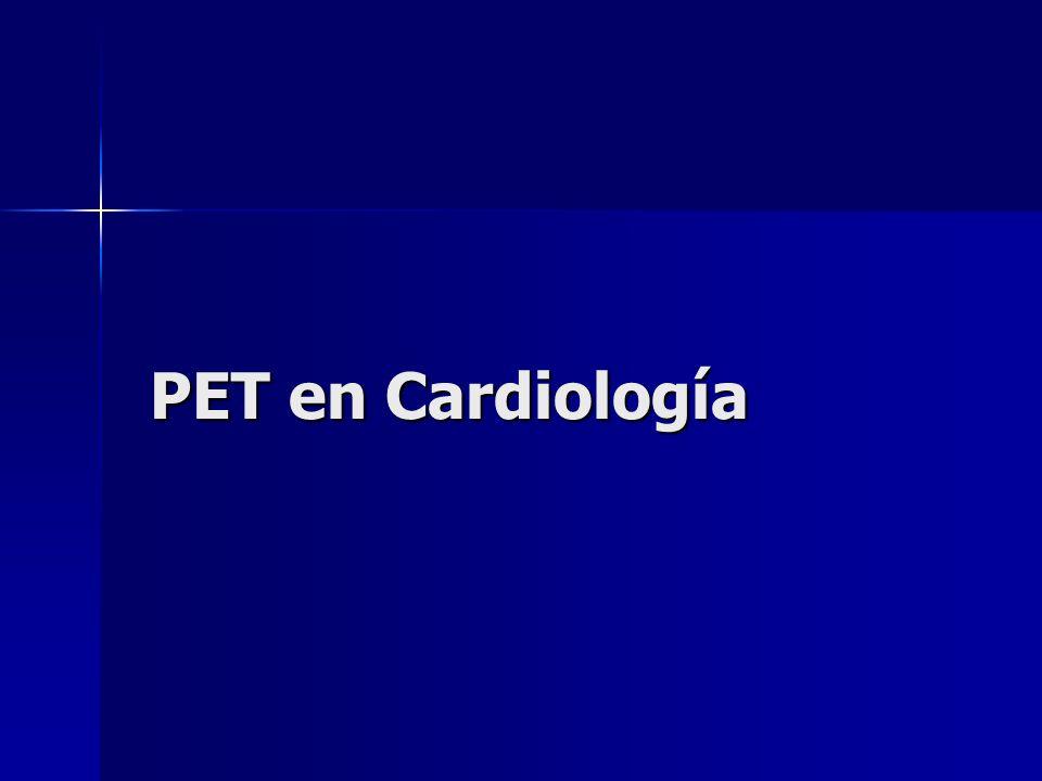 PET en Cardiología