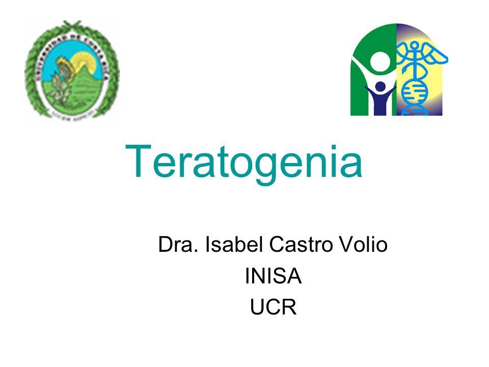 Dra. Isabel Castro Volio INISA UCR