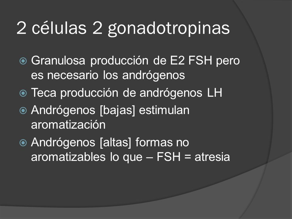 2 células 2 gonadotropinas