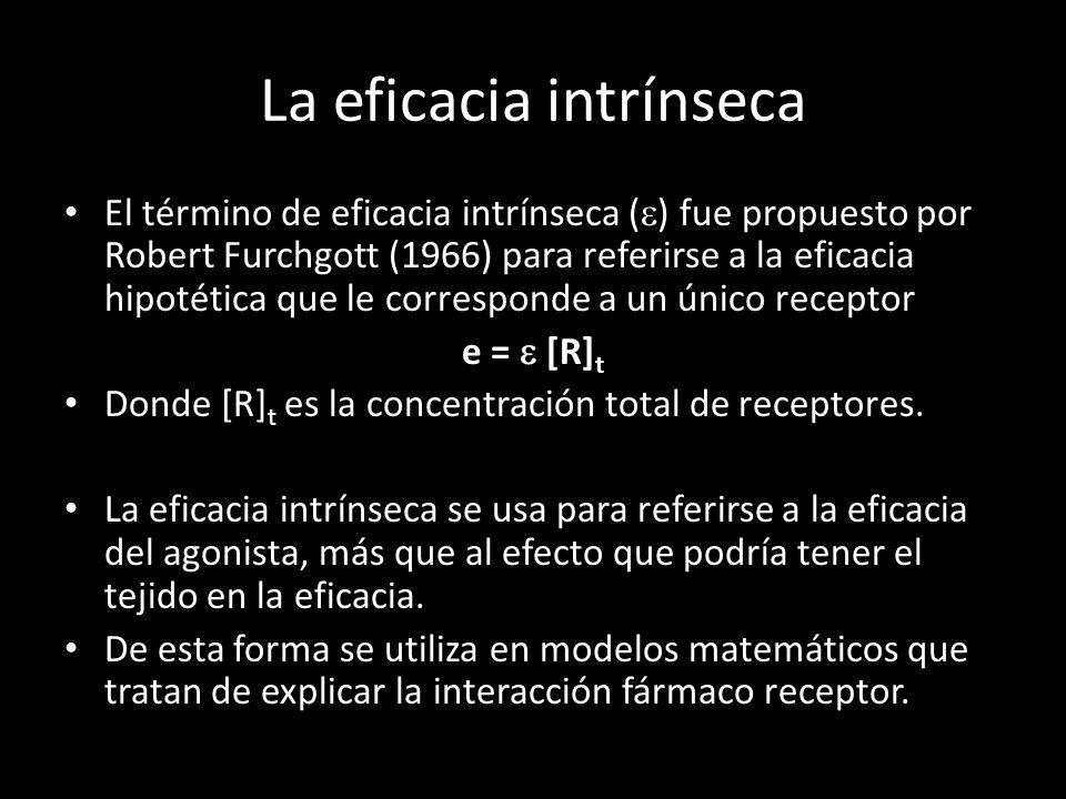 La eficacia intrínseca