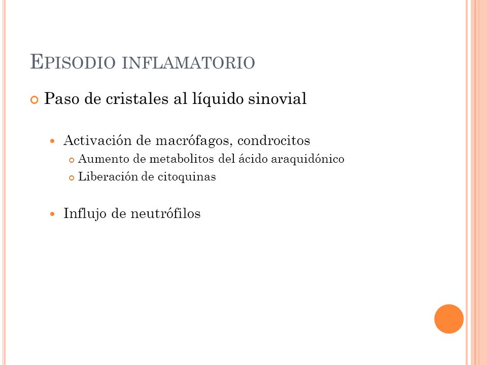 Episodio inflamatorio